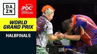 Mensur Suljovic und Peter Wright mit epischer Halbfinal-Schlacht | Darts World Grand Prix | DAZN