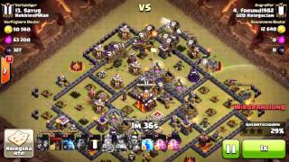 #47 || 3 Stars TH10 ★★★ 3 Sterne RH10 || Lightning Storm || Clash of Clans