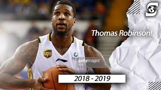 Thomas Robinson Beijing China CBA highlights 2018-2019
