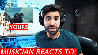 Greyson chance - yours musician's reaction
