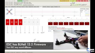 How to Calibrate all ESC with Naze32