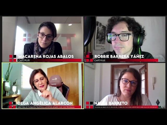 Macarena Rojas y Robbie Barrera en Café Plus en TXSPlus.com