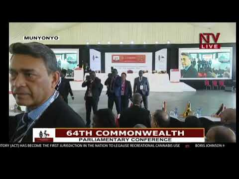 President Officially Opens Commonwealth Parliamentary Conference