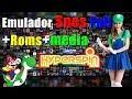 Sistema Super Nintendo +Roms + Media Hyperspin para windows