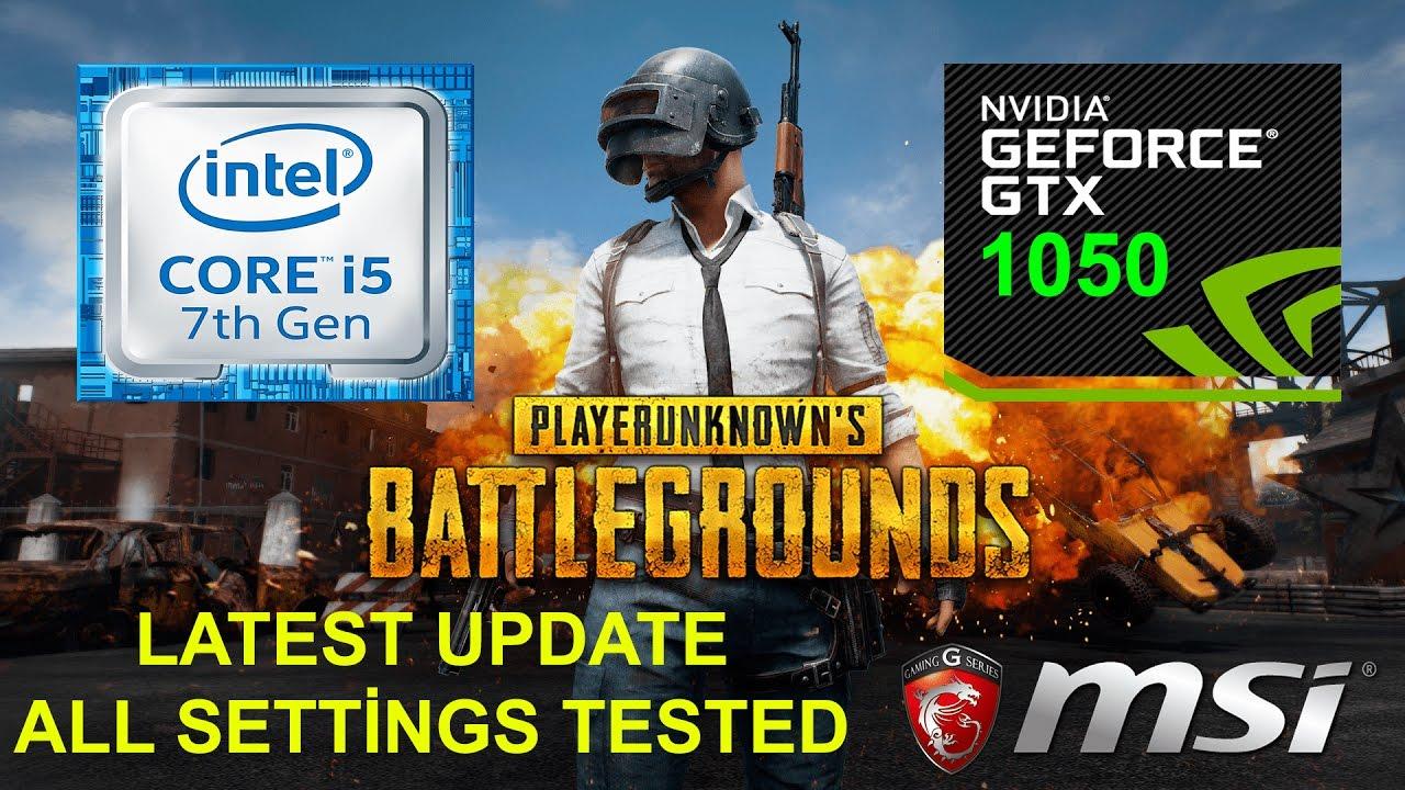 Playerunknowns Battlegrounds Msi Gl62m 7rd I5 7300hq Gtx 1050 All Gl62 7qf Intel Core I7 7700hq 8gb Ram 1tb Hdd Geforce Gtx960m 2gb Dos 156inchfhd Settings Tested