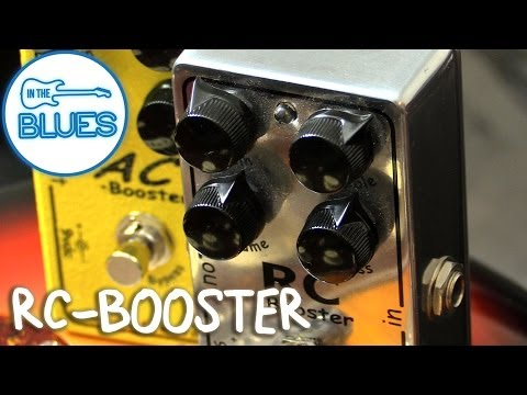 Xotic Effects RC-Booster Pedal Demo