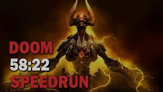 Doom :: SpeedRun - 58:22 (World Record)