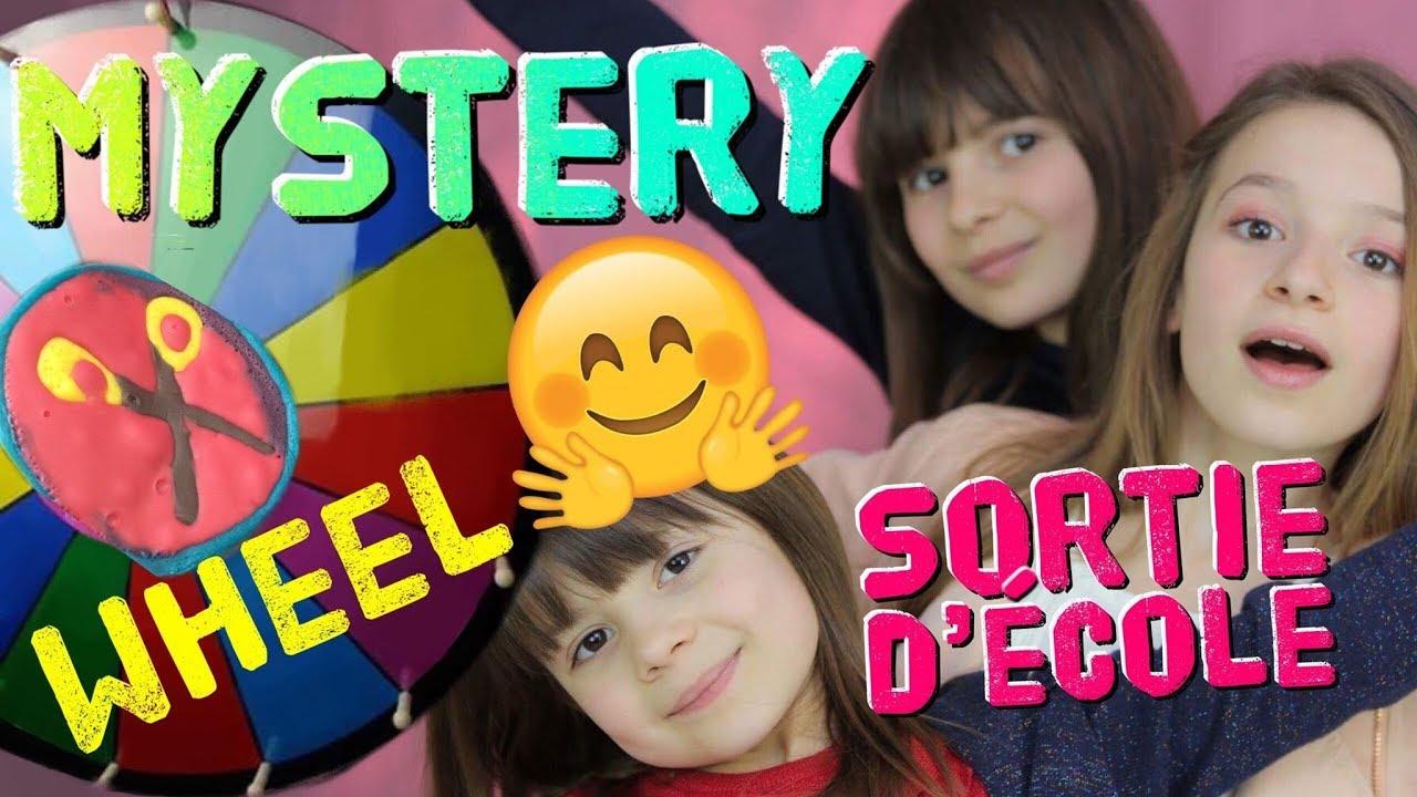 SORTIE D'ÉCOLE / MYSTERY WHEEL OF PANCAKE ART CHALLENGE by Lévanah&Family