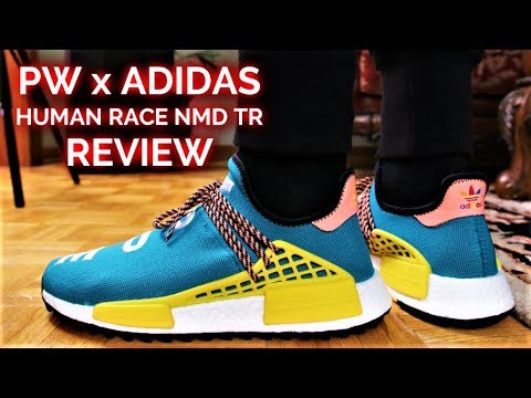 PHARRELL x ADIDAS HUMAN RACE NMD TR REVIEW and ON-FEET