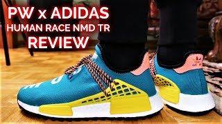 Adidas x Pharrell HUMAN RACE NMD TR REVIEW and ON-FEET