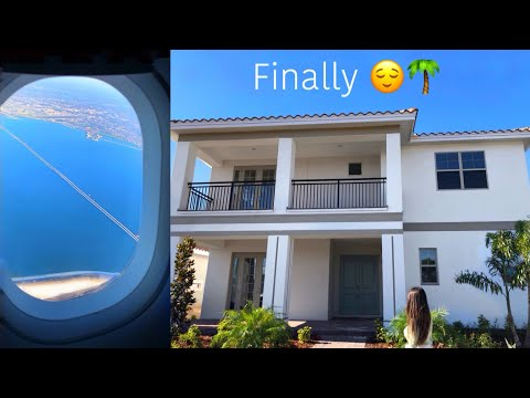 I Flew To Florida with my Fiancé To Buy A House *I cnt believe it!!*   FL Vlog🍾😢❤️