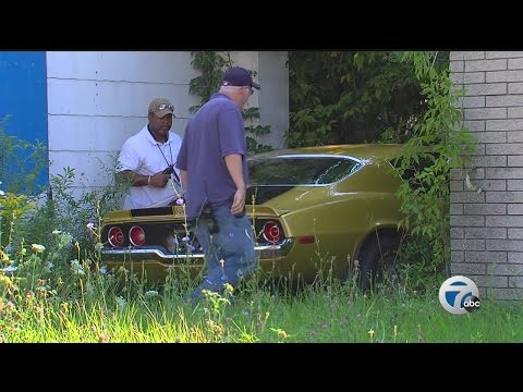 Papa John's Camaro Found In Detroit