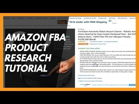 (Live Demo) Amazon FBA Private Label Product Research | Low Competition & High Profit