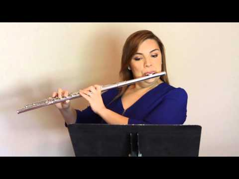2015-2016 TMEA Texas All-State Flute Etude #1 (Part 2)