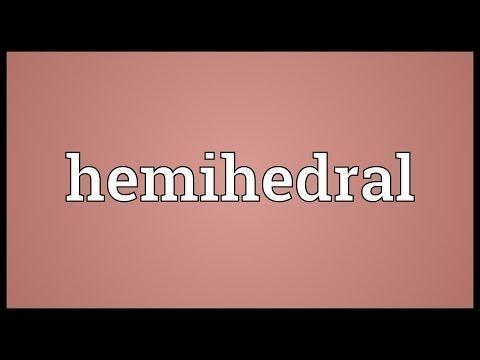 Header of hemihedral
