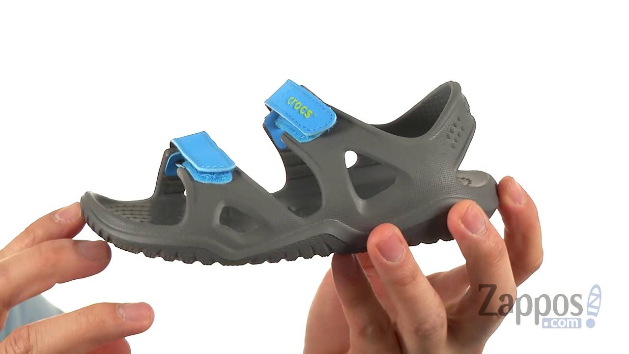 0170fb8135f0 Crocs Kids Swiftwater River Sandal (Toddler Little Kid) SKU  8989921 ...