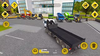 Construction Simulator 2014 - All vehicles have been purchased - Gameplay