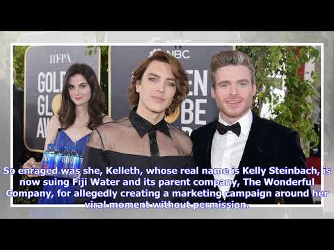 Fiji Water Girl Suing Fiji Water For Using Her Image On Red Carpet Cutouts
