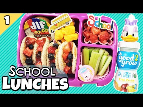 Back To School Lunch Ideas 🍎 ALL NEW Bunches Of Lunches