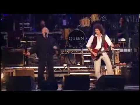 Joe Cocker, Phil Collins & Queen - With A Little Help From My Friends - Live in England 2002