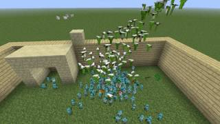 MINECRAFT Война глины(Clay Soldiers)