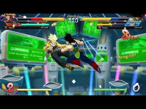 SUBINDO DE RANK #5 - Dragon Ball Fighter Z
