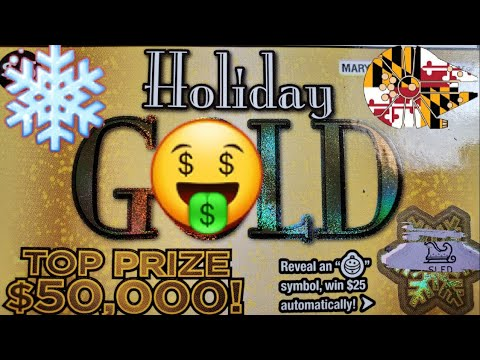🍀🍀MD LOTTERY HOLIDAY GOLD!