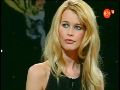 Claudia Schiffer en Viva el Lunes (1a visita) UCTV 1996.