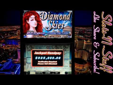 Diamond Skies Slot Play Seven Figure Jackpot - Tacos On The House!