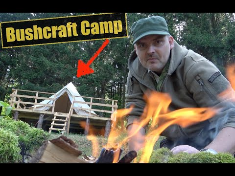 Bushcaft Camp 2 ist da | Waldurlaub.at