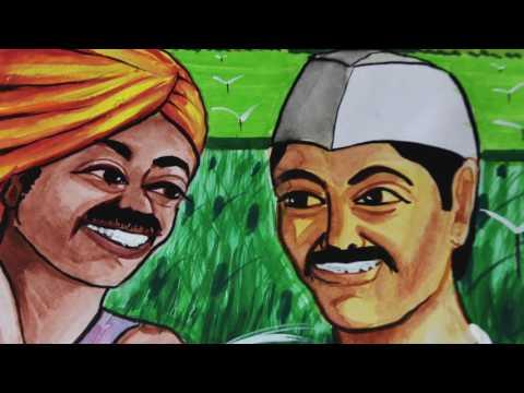 Goshtha Paani Niyojanachi a film on Water Budgeting   Marathi
