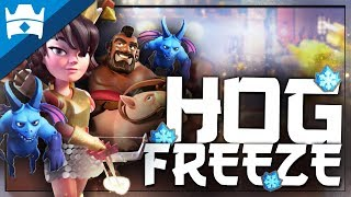 HOG FREEZE DOMINATION! FREEZE IS OP?! || Best Freeze Deck for Ladder and Challenges!