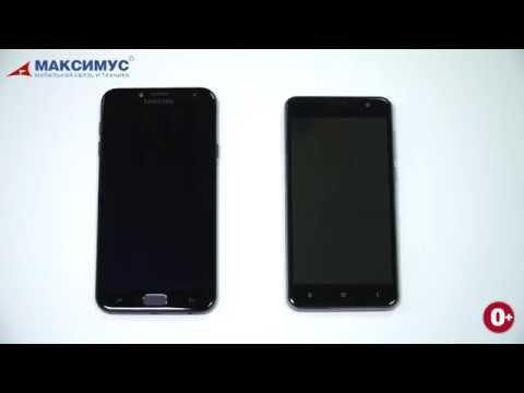 Vertex Impress Reef и Samsung Galaxy J4