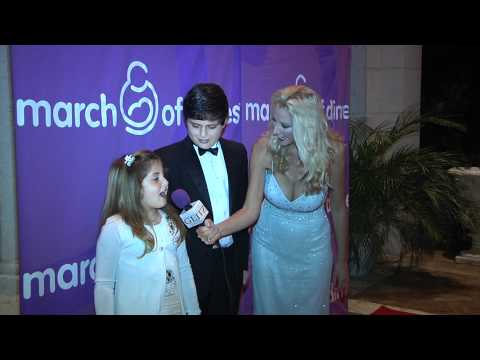 RedCarpetPamela~ YRCiTV.com March of Dimes Glitz 2010 on the Red Carpet with VIP Children Guest!
