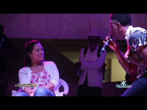 2017 Romain Virgo performs new single  'Heart Beat' Live on stage in Belize