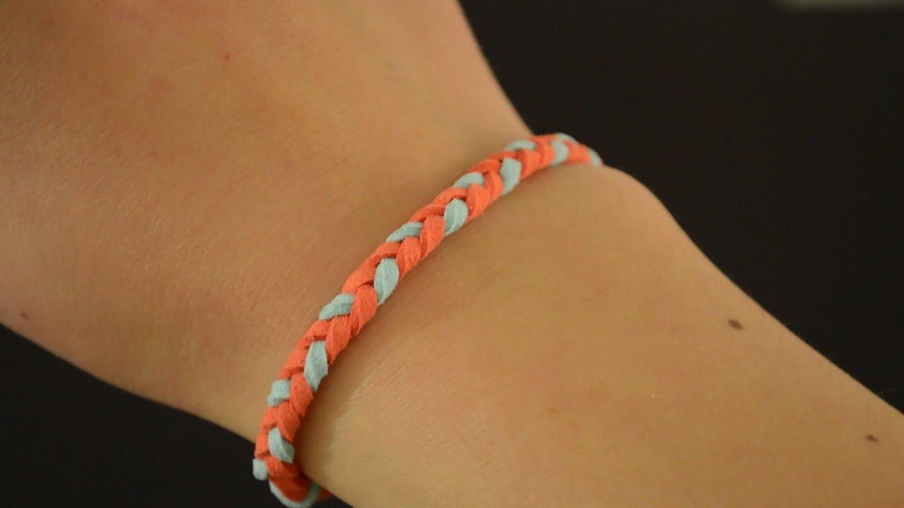 DIY : un beau bracelet tressé
