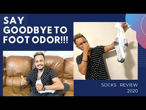 GOODBYE FOOT ODOR!! / POLYESTER VS. COTTON VS. MERINO WOOL / SOCKS REVIEW 2020
