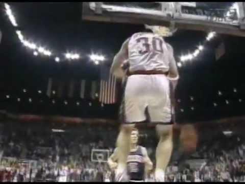 Mark Hendrickson reverse dunk vs. Arizona '95