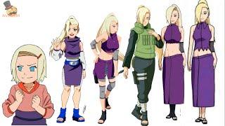 Naruto:Ino Yamanaka evolution