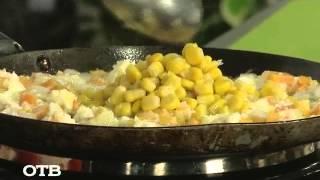 "Завтраки на ""УтроТВ"": китайский рис с овощами (27.05.15)"