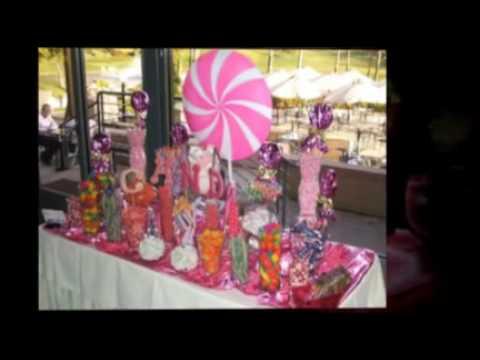 Emilys PINK Sweet 16 amp Pinkalicious Custom Candy Buffet