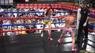 "Maximum Muay Thai Kids - Yuri Mariotti (Naja Combat Team) x Erick ""Espirro""(FTT) 48Kg ."