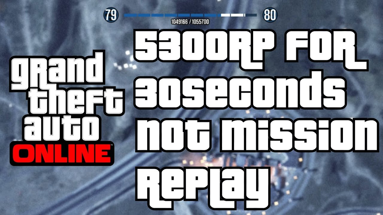 Gta  Online Fastest Way To Rank Up New Non Mission Method Grand Theft Auto V Earn Rp Points