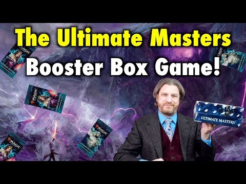 Let's Play The Ultimate Masters Booster Box Game For Magic: The Gathering