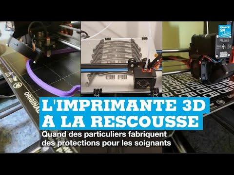 Coronavirus: avec les imprimantes 3D,