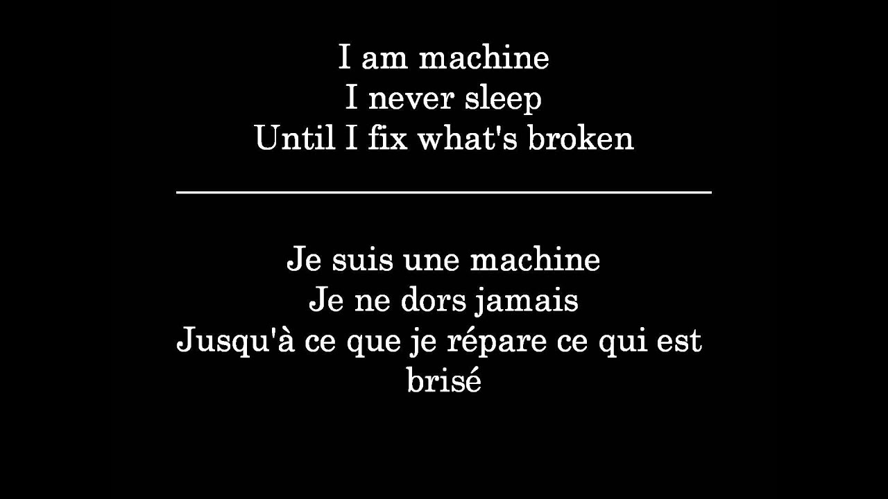 i am machine three days grace lyrics