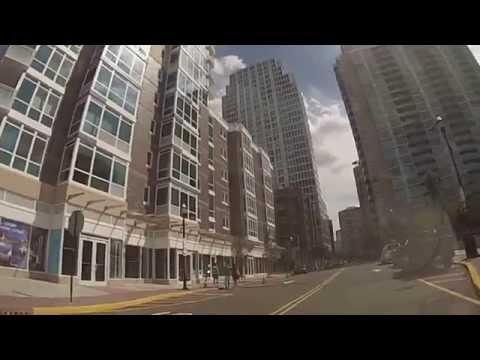 Jersey City, New Jersey – A drive around Newport HD (2013)