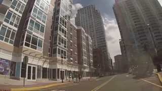 Jersey City, New Jersey - A drive around Newport HD (2013)