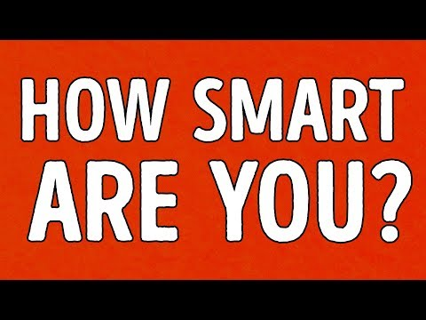 Are You Smart Enough For Your Age?