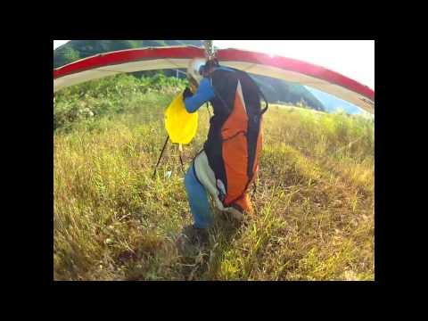 Landing with drag chute - Jang, Dong Sun Pilot
